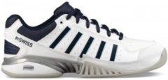 K-Swiss Receiver IV Carpet Tennisschoen Heren Sportschoenen - Maat 46 - Mannen - wit/blauw