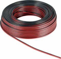 Rode Goobay 67738 Luidsprekerkabel 2 x 4 mm² Rood/zwart 10 m