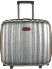 Lite-Cube DLX Upright 2-Rollen Businesstrolley 43 cm Laptopfach Samsonite aluminiumfarben