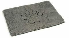 Dog gone smart Dirty Dog Droogloopmat Hond - Dierenmat - Grijs - 88 x 68 cm