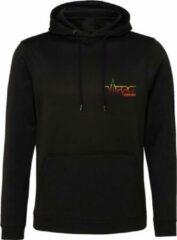 FitProWear Hoodie Zwart Maat XXL - Trui - Sweater - Sportkleding - Polyester - Casual