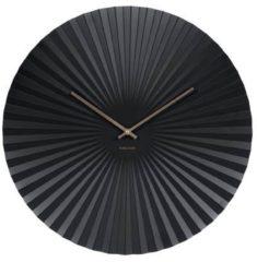 Zwarte Karlsson Wall clock Sensu XL steel black
