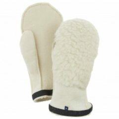 Hestra - Heli Ski Wool Liner Mitt - Handschoenen maat 12 wit