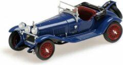 Blauwe Alfa Romeo 6C 1750 GS 1930 Blue