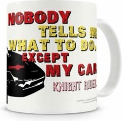123 Kado koffiemokken Knight Rider nobody tells me what to do mok - Mokken/Bekers - Koffiemok - Koffiebeker