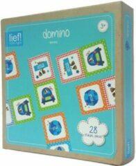 Lief! Lifestyle Lief! Jongens Domino Stoer blauw