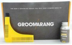 Groomarang the basic collection - baardkam & baardolie 30ml