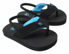 Yello Teenslippers Zwart Jongens Maat 27