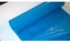 Blauwe Mecram Industrie Vuilniszakken 70 x 110 x 70 mμ - 200 stuks