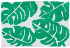 MiaVILLA Badematte Palmenblätter, Baumwolle