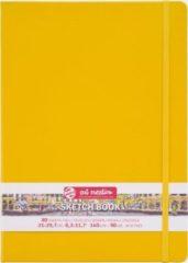 Witte Royal Talens Talens Art Creation Schetsboek 21x30 cm 140gr 80 vel Goudgeel