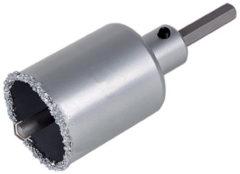Wolfcraft Gatzaag HM-bestrooid met zeskant-schacht en boor, snijdiepte 55 mm artikel nr. 3896000