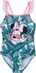 Groene Badpak Minnie Mouse maat 122/128