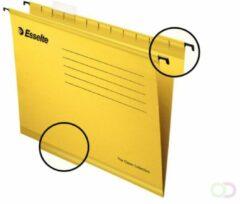 Esselte Classic hangmappen voor laden,tussenafstand 365 mm, geel