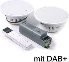 KBSound Eissound I-Select 5, Einbauradio mit Displayfernbedienung, DAB+ u. 2-Wege-LS