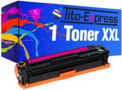 Tito-Express PlatinumSerie 1 Toner XL PlatinumSerie Magenta voor HP CF213A Laserjet Pro 200 Color M251N 200 Color M251NW 200 Color M276N 200 Color M276NW