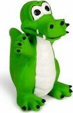 Beeztees Krokodil - Hondenspeelgoed - Groen - 12 cm