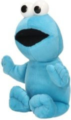 Blauwe Pluche Sesamstraat knuffel Koekiemonster 28 cm