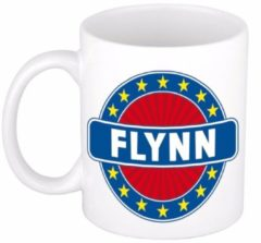 Shoppartners Namen mok / beker - Flynn - 300 ml keramiek - cadeaubekers