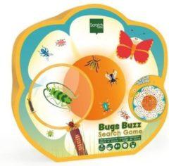 Scratch Zoekspel Insecten Junior 50 Cm Karton Blauw 51-delig