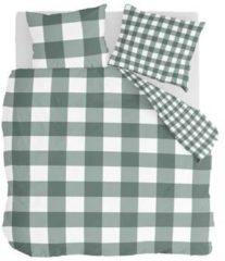 Byrklund Falsterbo - Dekbedovertrek - Tweepersoons - 200x200/220 cm + 2 kussenslopen 60x70 cm - Groen
