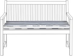 Blauwe Beliani Vivara Zitkussen Polyester 114 X 54 Cm
