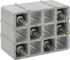 Grijze Practo Flessenrek of wijnrek van polystyreen voor 12 flessen