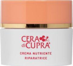 Cera di Cupra Crema Nutriente Riparatrice – Collageen en Vitamine creme – Het versterkt de structuur en behoudt de compactheid en dichtheid van de huid, geeft kleur en elasticiteit – Pot van 50ml