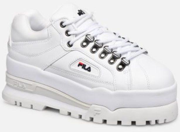 Afbeelding van Witte Lage Sneakers Fila TRAILBLAZER WEDGE WMN