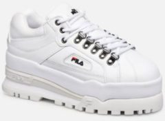 Witte Lage Sneakers Fila TRAILBLAZER WEDGE WMN