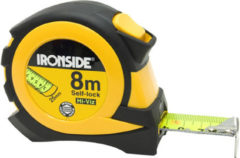 Ironside rolbandmaat rubber 8 m x 25 mm Evolution