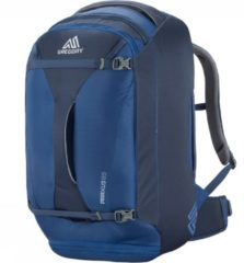 Blauwe Gregory Backpack - Adv-Travel Packs Praxus 65l Indigo Blue