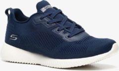Skechers Bobs Squad Tough Talk dames sneakers - Blauw - Maat 36 - Extra comfort - Memory Foam