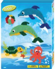Blauwe Hama beads Hama strijkkralen zeedieren - 2000-delig
