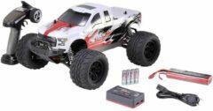Reely NEW1 Brushless 1:10 RC auto Elektro Monstertruck 4WD 100% RTR 2,4 GHz Incl. accu, oplader en batterijen voor de zender