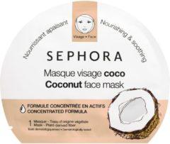 Witte Sephora Gezichtsmasker | kokosolie masker | Coconut mask| verzorging / mooi / gezond / gezichtsreiniging / foto / vermoeide huid