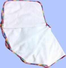 Merkloos / Sans marque Vijf wasbare XL-doekjes bamboe baby, handjes, gezicht en billen 26cm x 20cm