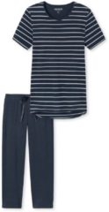 Capri-Pyjama, gestreift Schiesser nachtblau