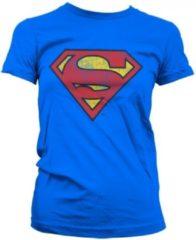 Vintage Superman logo t-shirt dames L