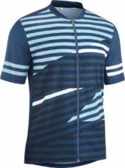 Gonso Fietsshirt - Maat XL - Mannen - blauw/wit