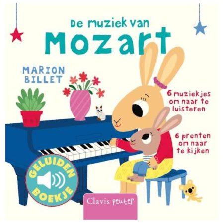 Afbeelding van De Muziek Van Mozart (Geluidenboekje)