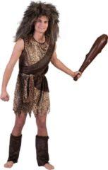 Bruine Funny Fashion Carnavalskostuum Neanderthaler - Heren - Maat 48/50
