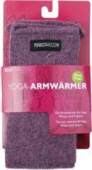 Donkerrode Yoga-armwarmers elderberry - wol Armwarmers YOGISTAR