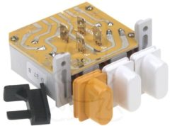 Miele Schalter (Drucktasten- 3 Tasten- weiß) für Waschmaschine 1921513