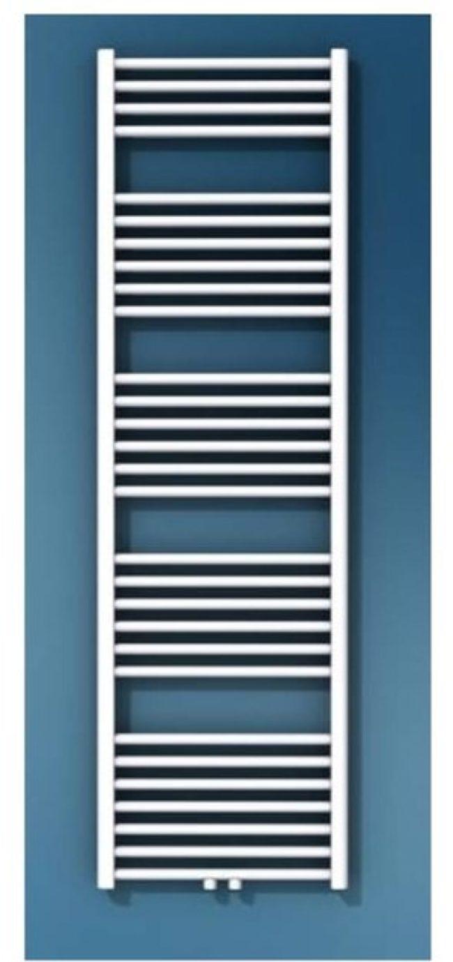 Afbeelding van Vasco Comfort Collection handdoekradiator, afgifte 970W, buis rond, aansluitingen 2, hxlxd 1714x600x34mm, wit RAL9016