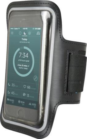 Afbeelding van Carpoint sportarmband voor smartphones tot 5,5 inch zwart