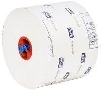 Witte Tork SCA Tork toiletpapier Mid-Size 2-laags 100 meter systeem T6 pak van 27 rollen