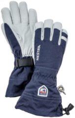 Hestra - Army Leather Heli Ski 5 Finger - Handschoenen maat 12, blauw/grijs