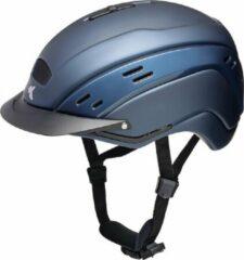 Marineblauwe Cocon II L navy KED cap met hoofdomtrek: 58-62 cm