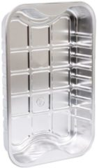 Smokin' Flavours Aluminium bakken 5 stuks XL LBH 29x19x4,5cm